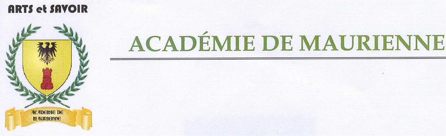 Logo de l'Académie de Maurienne